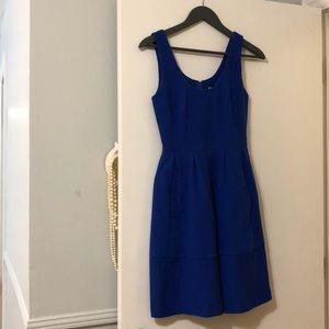 Banana Republic Sleeveless Royal Blue Dress